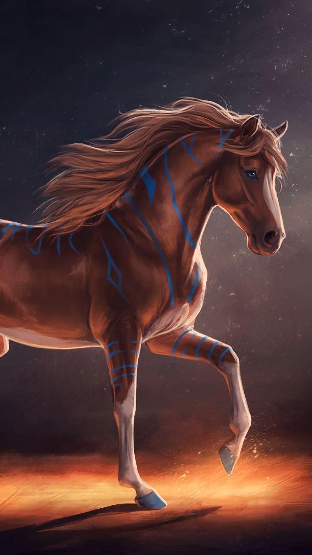 Fantasy Horse Phone Wallpaper Flip Wallpapers Download Free Wallpaper Hd In 2020 Horse Wallpaper Fantasy Horses Horses