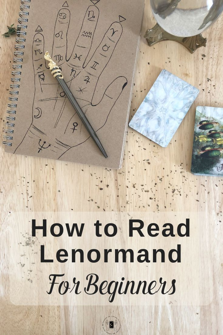 How to read Lenormand cards for beginners. This article