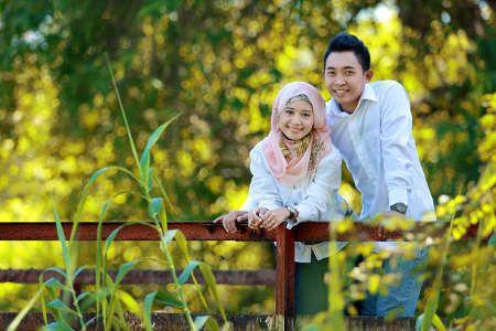 Prewed Romantis Hijab 10