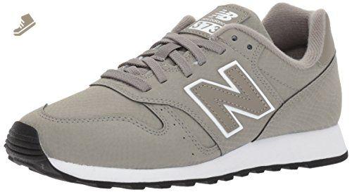 New Balance Women's 373V1 Sneaker, Grey/White, 8.5 B US ...
