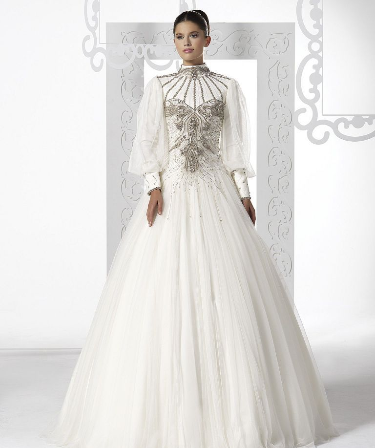 30 awesome wedding dresses for muslims 2020