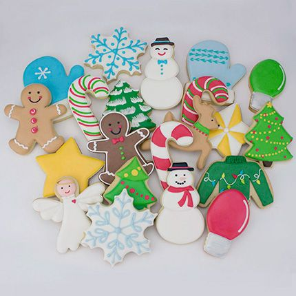 Holiday Cookie Cutter 11 pc Set cookie cutters and decorating in