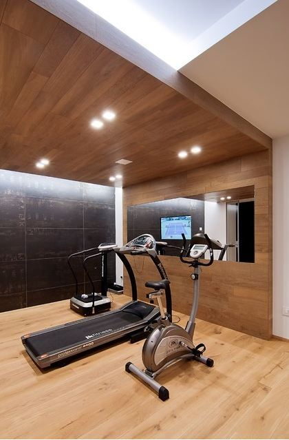 Pin By Lea Nadjar Agence Mo On Sport Home Gym Decor Gym Room At Home Home Renovation Companies