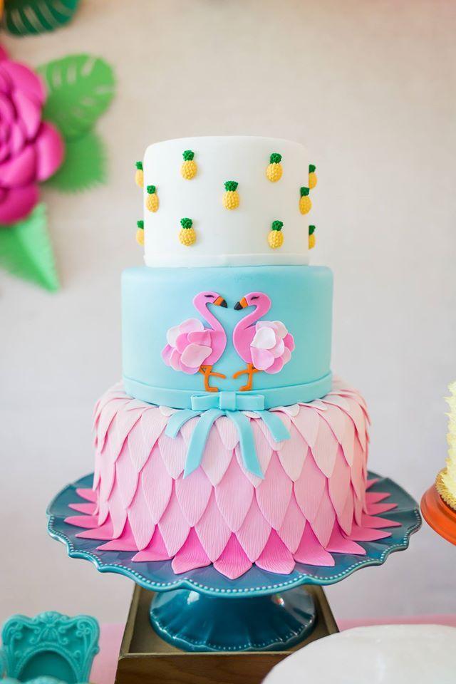Simplesmente Apaixonada Por Esta Linda Festa Flamingo Decoracao