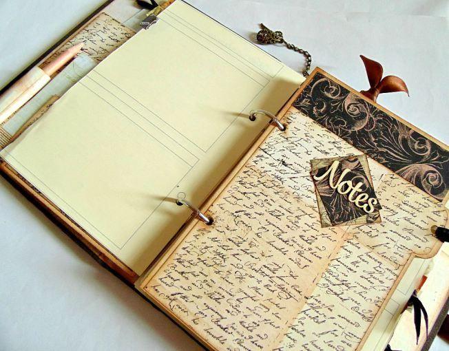 ellanascrap ellana scrap scrapbooking agenda 2015 intérieur notes - agenda