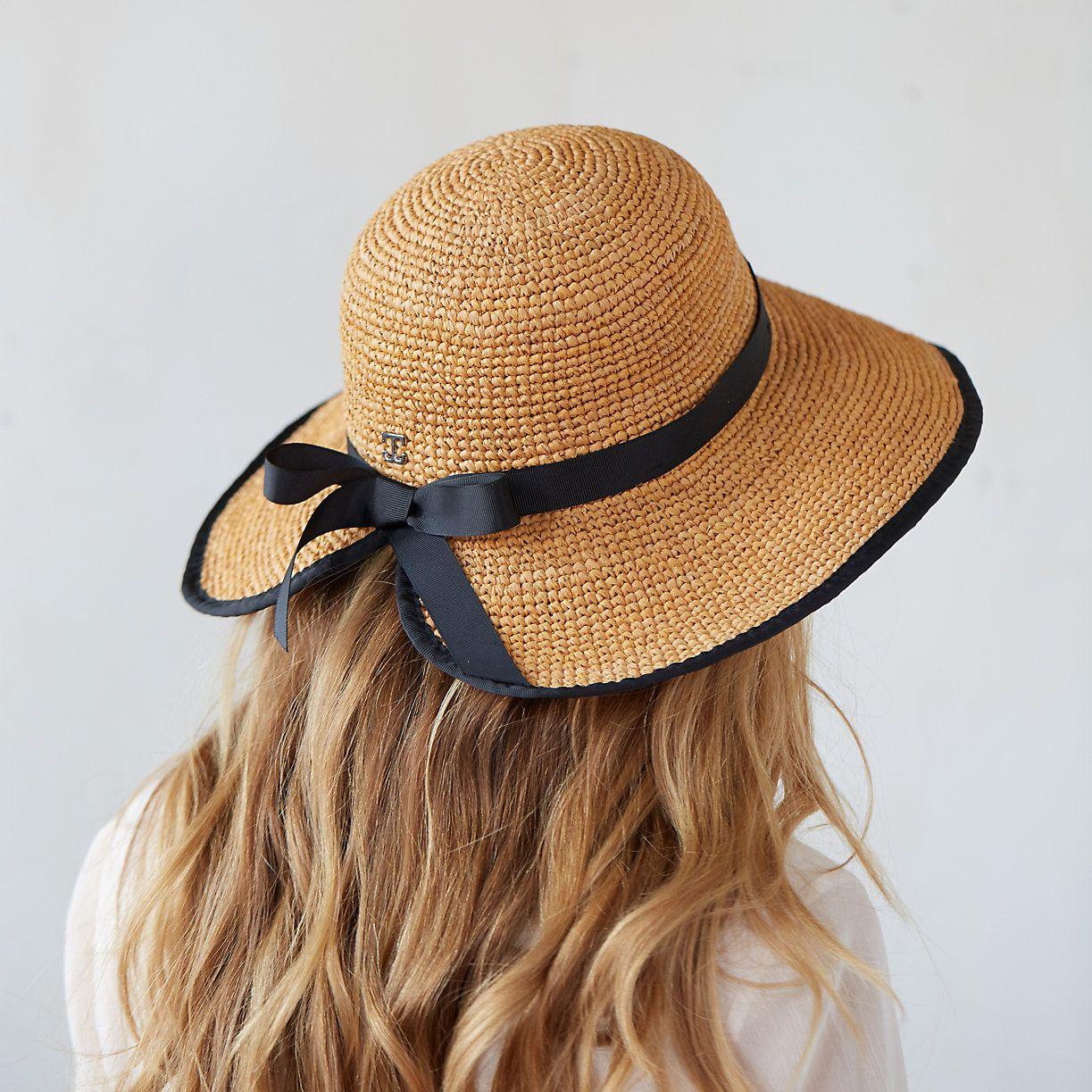 Adjustable Raffia Sun Hat Terrain Raffia Sun Hat Summer Hats
