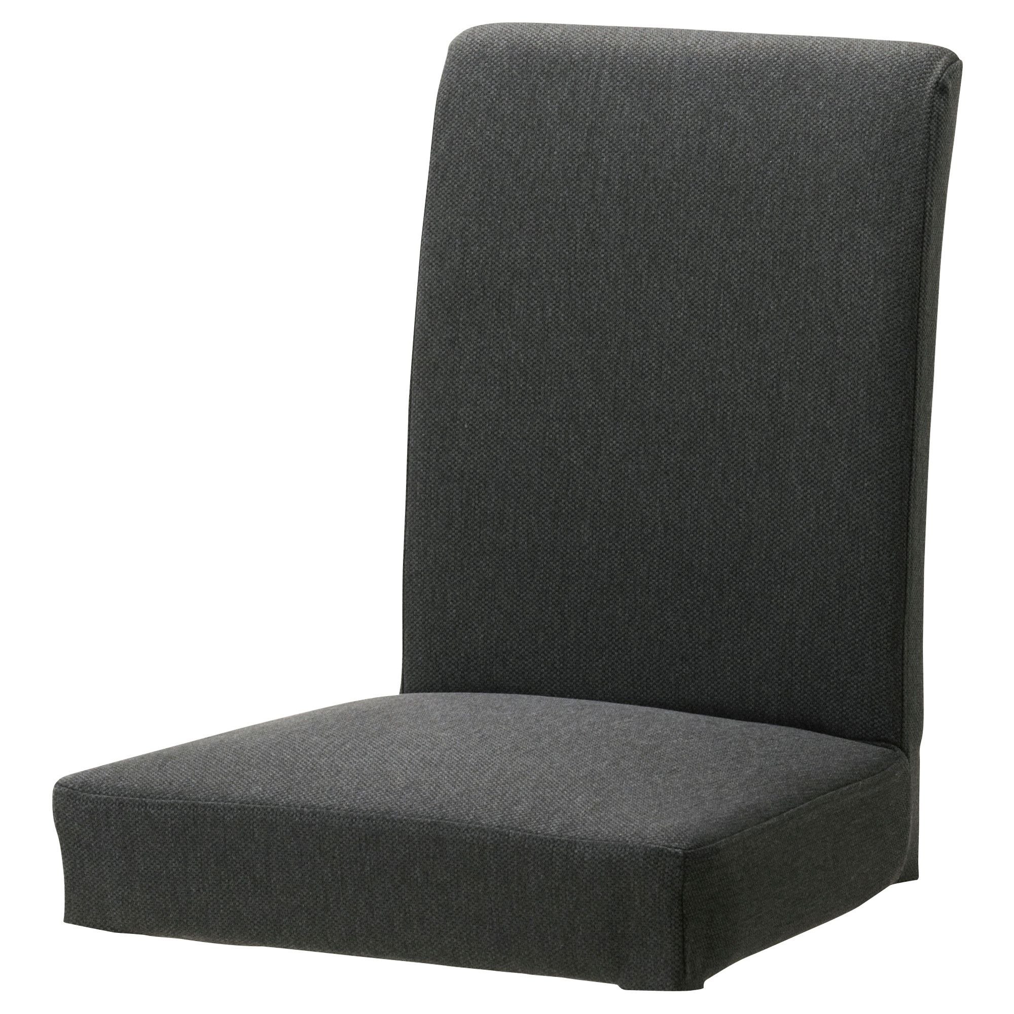 HENRIKSDAL Chair cover, Dansbo dark grey IKEA