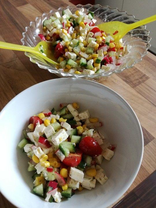 Griechischer Maissalat von Trinä | Chefkoch