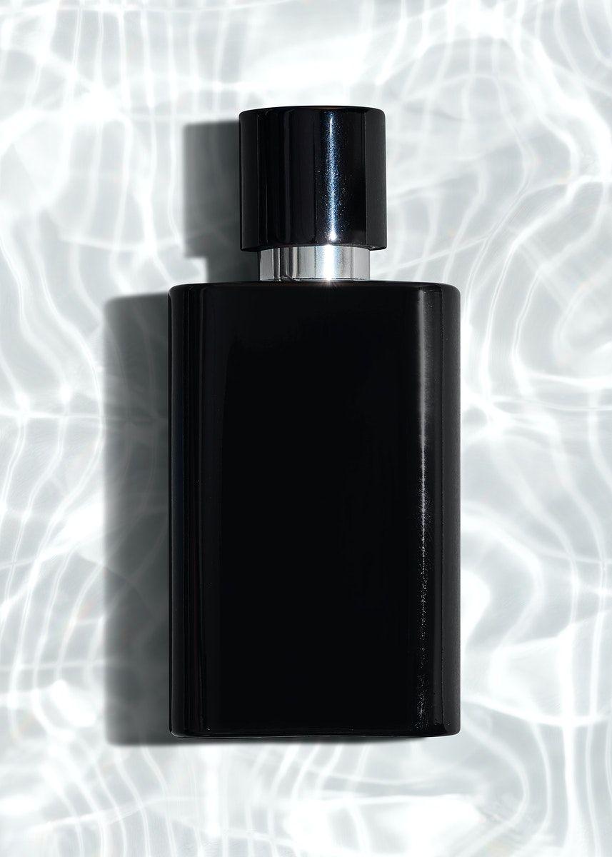 Download Premium Psd Of Black Perfume Glass Bottle Mockup Design 2361098 Bottle Mockup Black Perfume Perfume