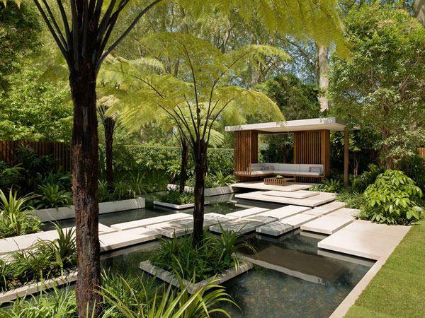 Through The Eyes Of Andrew Meredith Plastolux Modern Garden Landscape Design Garden Design