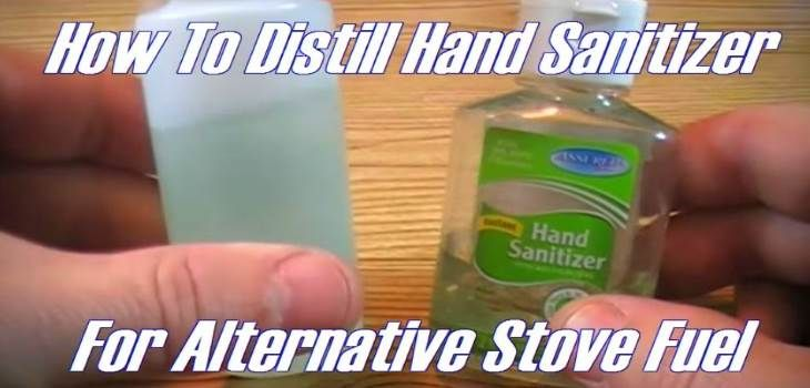 How To Convert Hand Sanitizer Into Alcohol Fuel For Cooking Stove