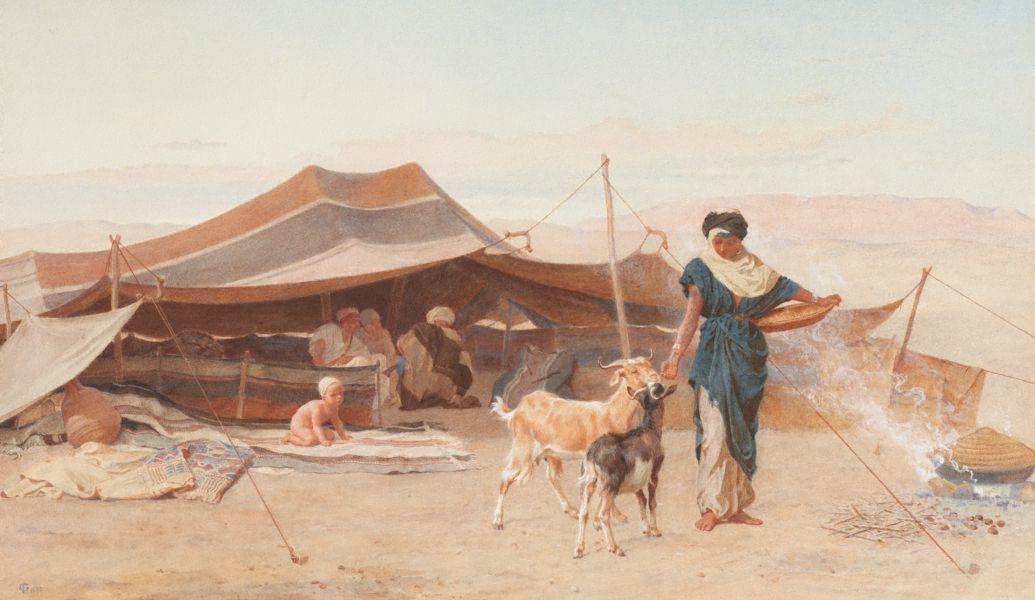 Frederick Goodall An Arab Home Art English Artists Bedouin Tent