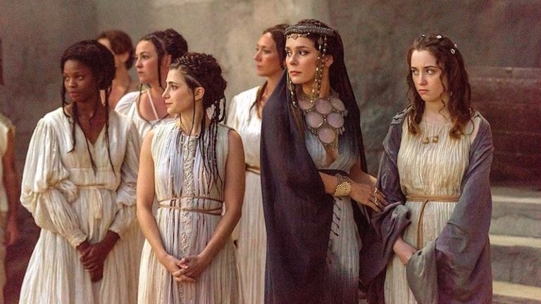 Troy: Fall of a City | Historical TV fashion | The fall