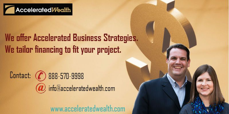 At accelerated wealth we dont rush to sell products