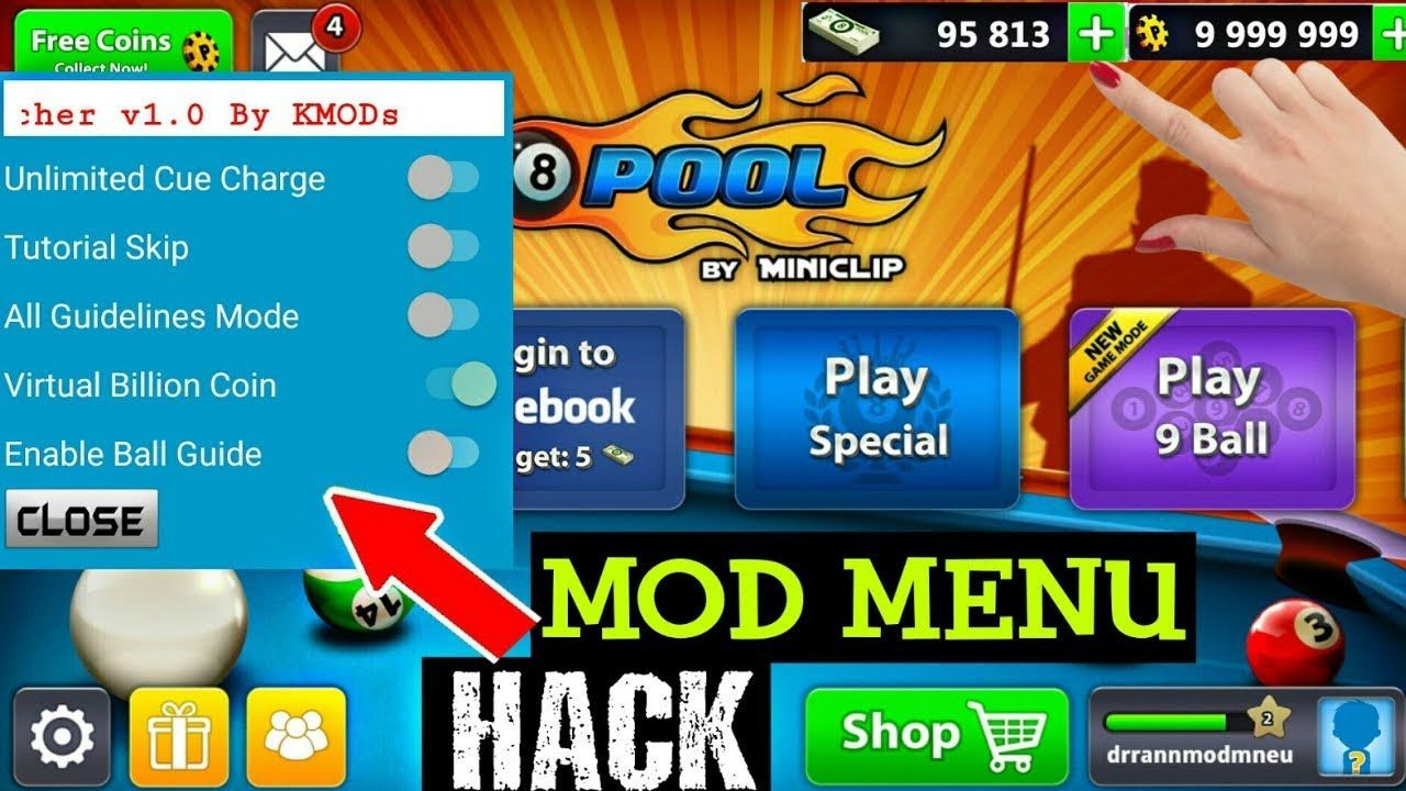 How To Install 8 Ball Pool Hacked Pool Hacks Tool Hacks