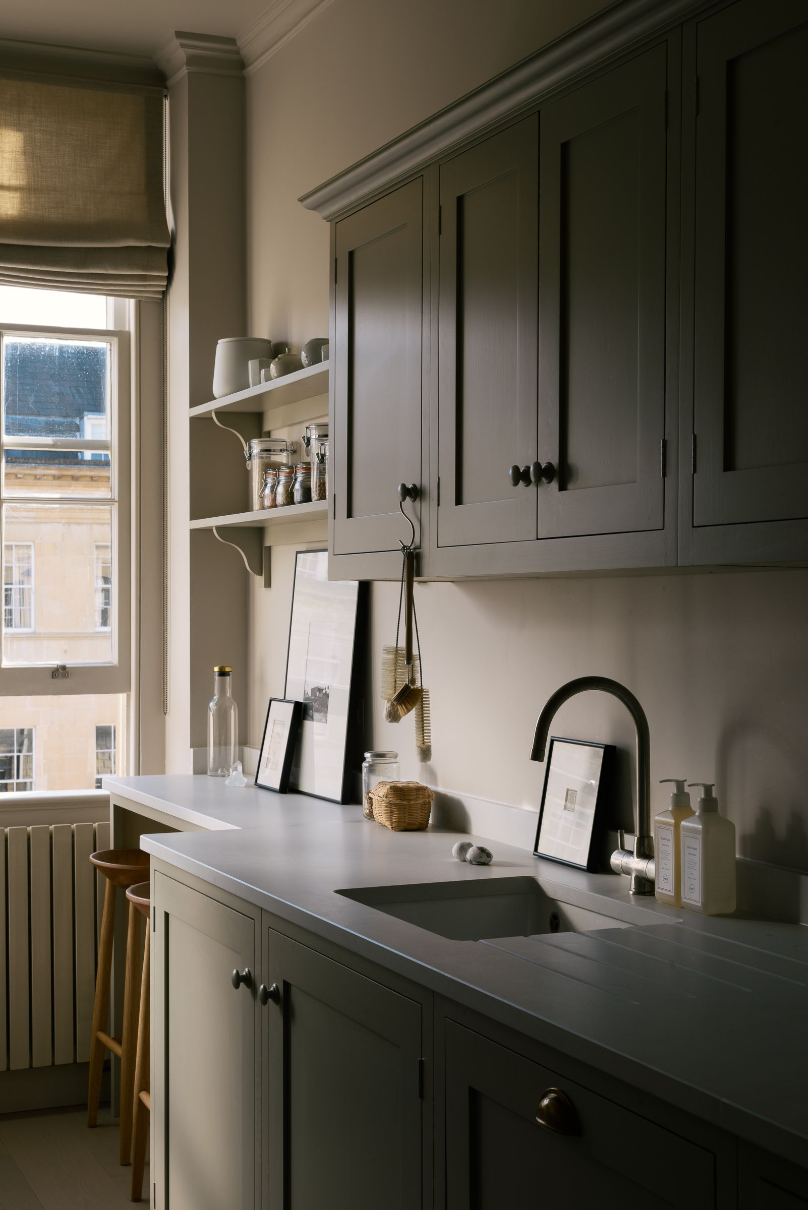 Small Doesn T Have To Be Boring This Minuscule Country House Kitchen Is Compact Charming And E Interior Design Kitchen Kitchen Interior Small Galley Kitchens