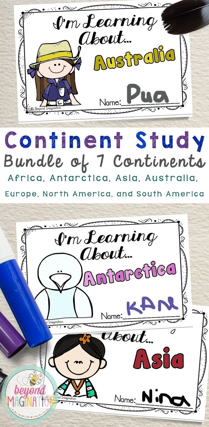 Continent study bundle 7 countries save 550 kindergarten and continent study bundle 7 countries save 550 kindergarten and learning publicscrutiny Images