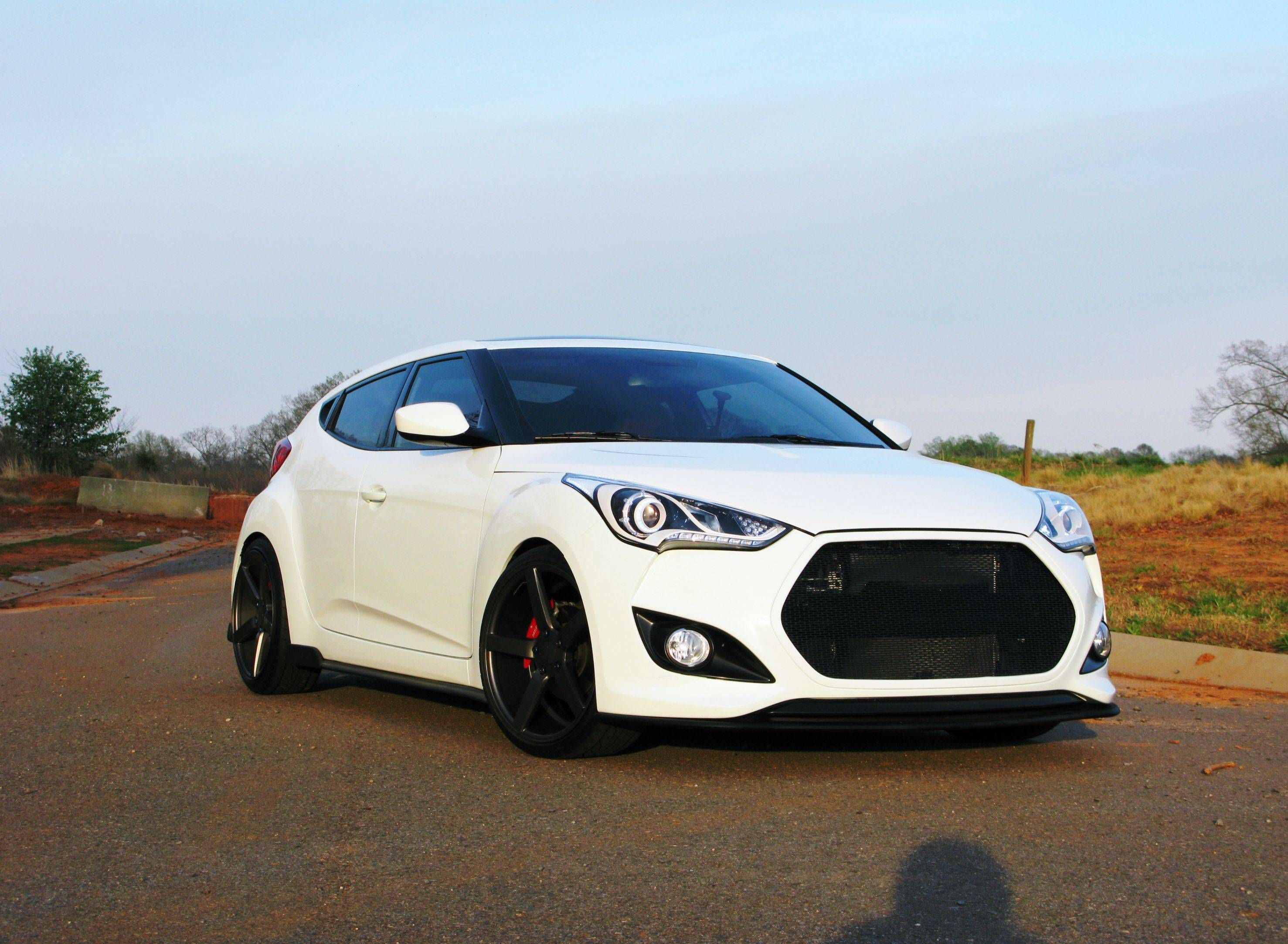 photo 1 Hyundai Veloster custom wheels Vossen CV3 19x8 5 ET 32