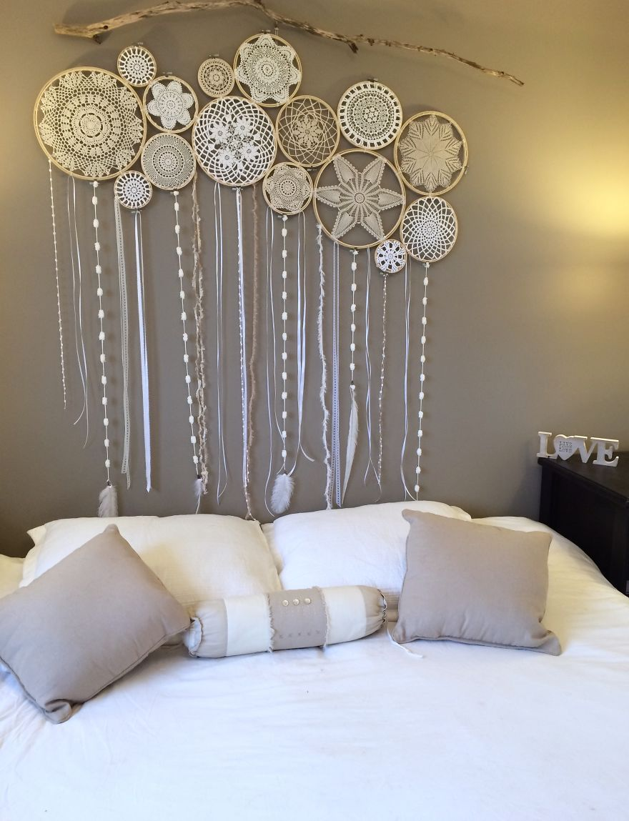 dreamcatcher wall murals by dreamcatcher collective tete. Black Bedroom Furniture Sets. Home Design Ideas