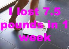 How to lose weight in a month pinterest