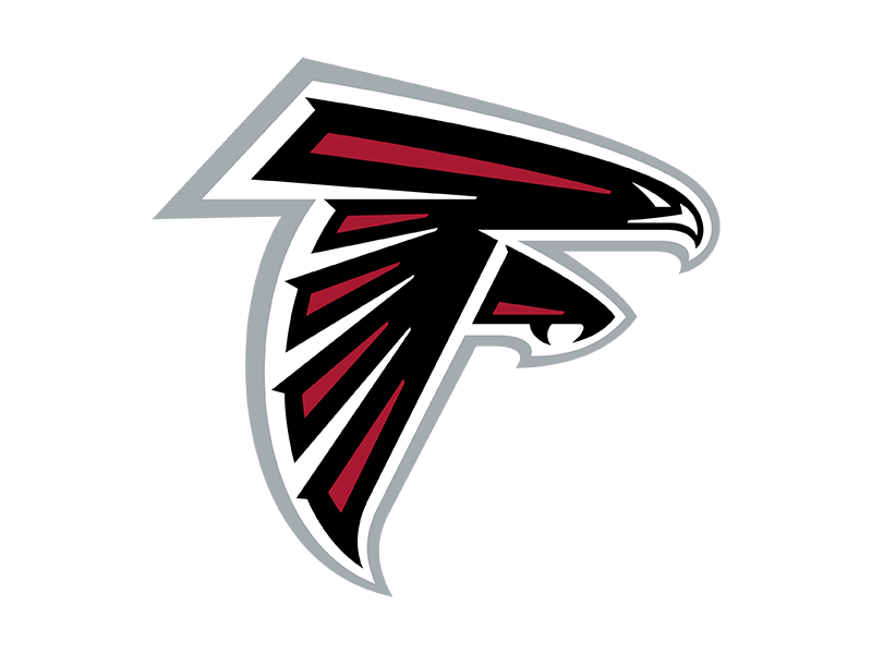 The Atlanta Falcons Logo As A Transparent Png And Svg Vector Available For Download Falcon Logo Atlanta Falcons Logo Sports Logo