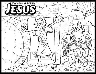 The Heroes Of The Bible Coloring Pages Jesus Bible Coloring