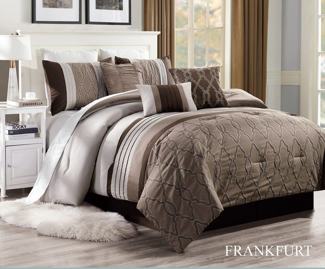 Free 2 day shipping. Buy Unique Home Frankfurt Comforter 7 Piece
