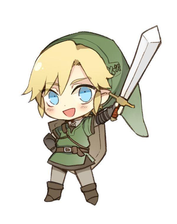 Chibi Link So Cute Kawaiiiii Pinterest Chibi Anime Chibi And