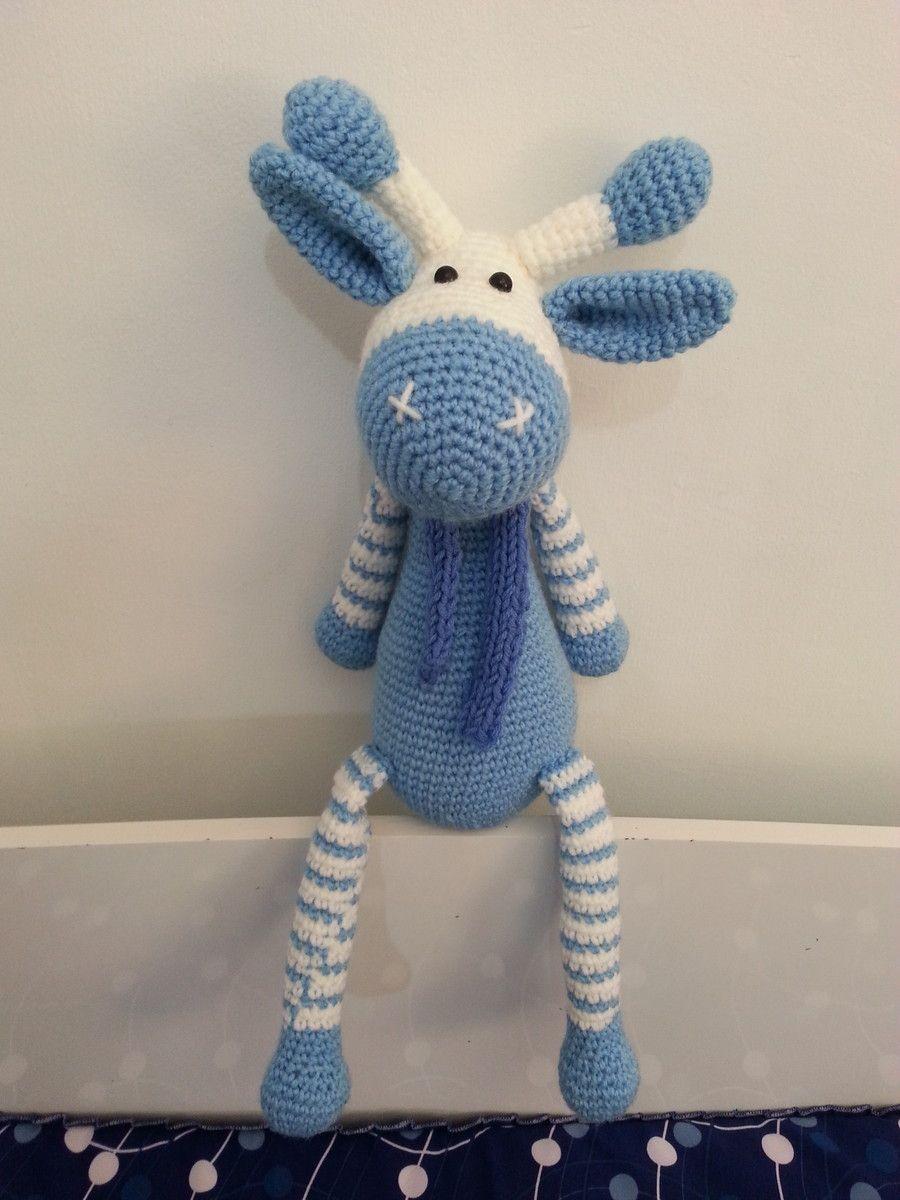 Amigurumi Crochet Pattern - Stanley the Giraffe   Jirafa amigurumi,  Patrones amigurumi, Animales de ganchillo   1200x900