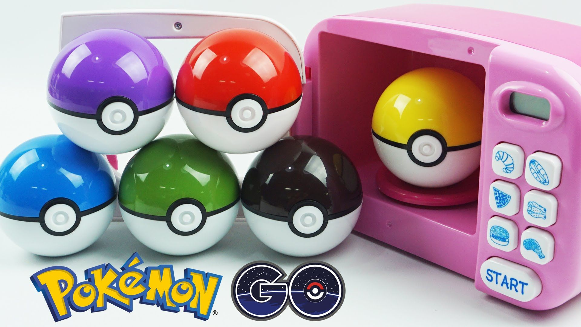 Learn Colors with Pokemon GO Slime Clay Surprise Toys with