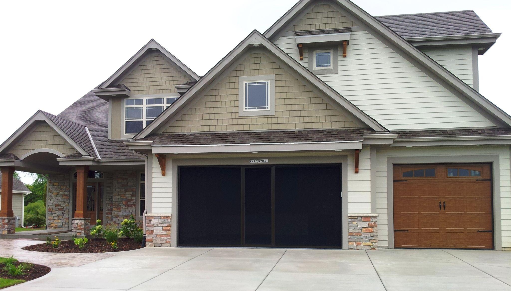 Karek Homes Http Www Joewilde Com Products Garage Screen Flooring Php Retractable Screen Garage Addition Home