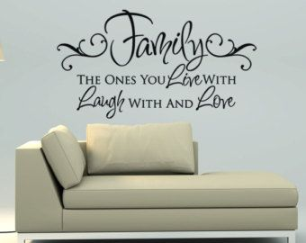 Awesome Room · Living Room Wall Decals Quotes.