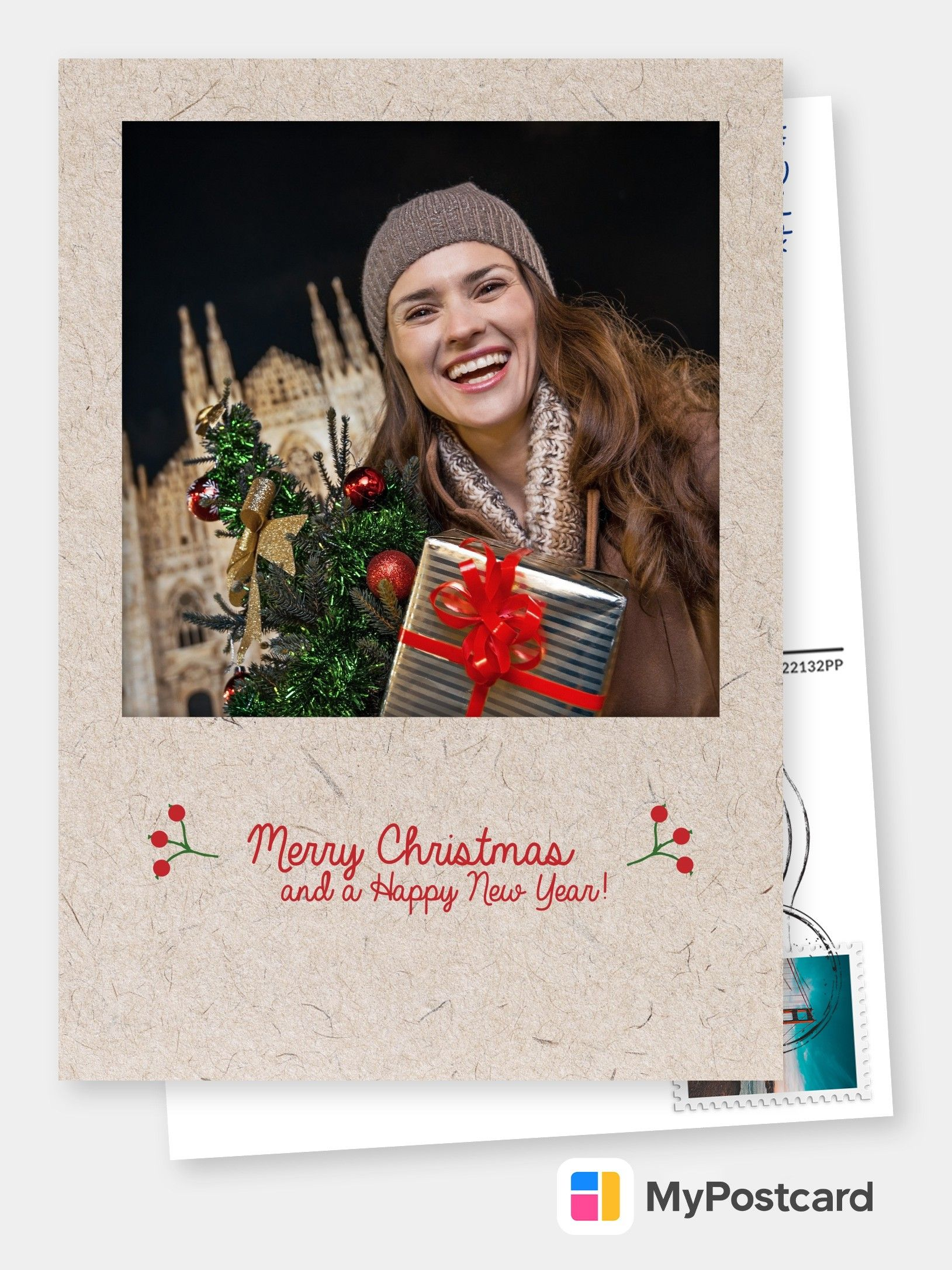 Personalized Photo Christmas Cards Free Shipping International Templates Use With Your Own Photos Create And Send Your Photo Cards Online Printed Mail Christmas Cards Free Christmas Postcard Merry Christmas Card