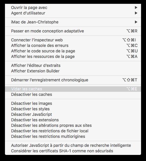 Vider Le Cache De Safari Mac Macplanete Mac Mac Os Navigateur