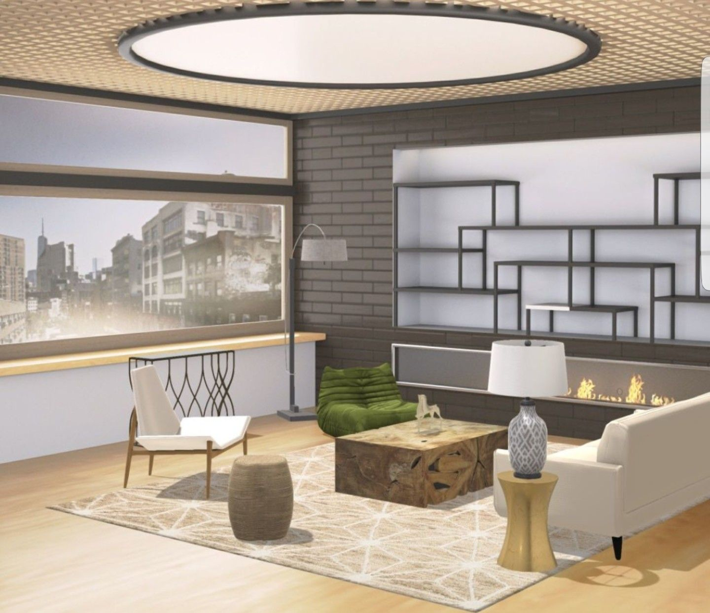 Design My Living Room App Impressive My Project Of Peaceful #livingroom In Neutral Colors With Asian Design Inspiration