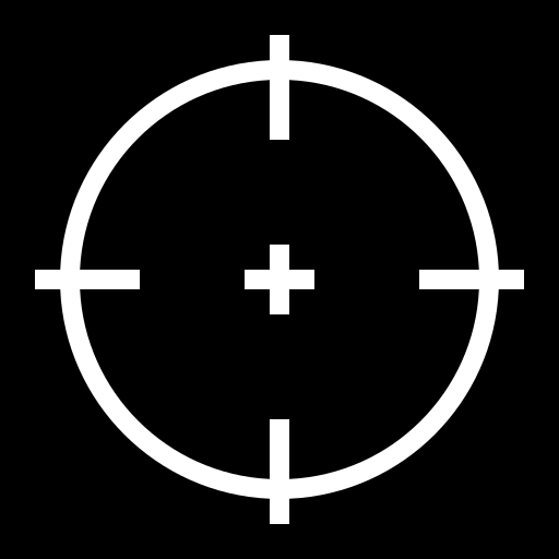 Crosshair Icon Icon Game Icon Peace Symbol
