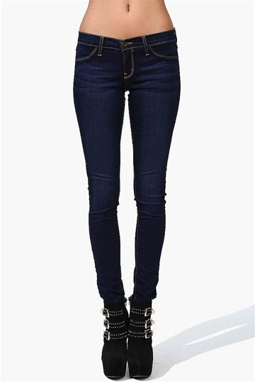 mörka jeans dam