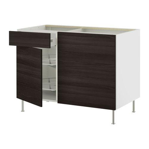 Ikea European Kitchen Cabinets: AKURUM Corner Base Cab W/p-o Organizer
