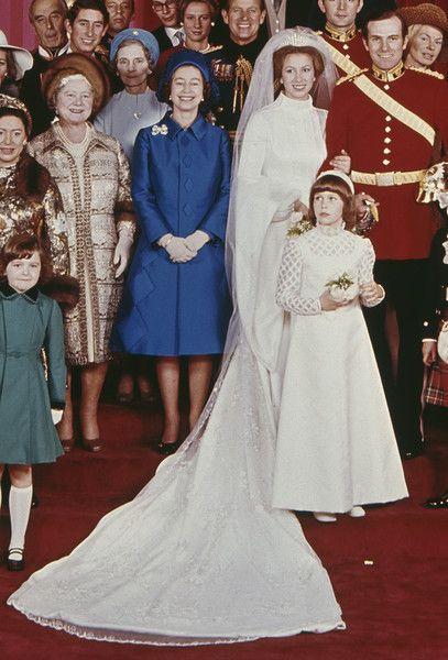 Princess Anne  Princess anne wedding dress, Princess anne wedding