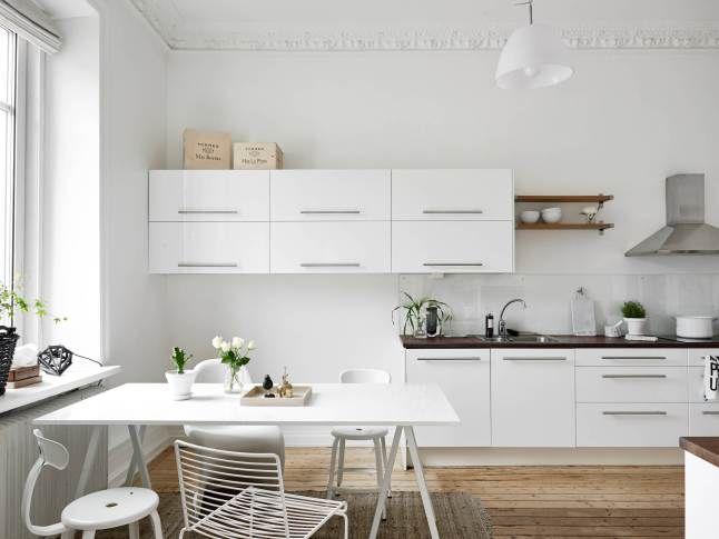 Keuken Interieur Scandinavisch : An ikea kitchen in a scandinavian home keuken küche