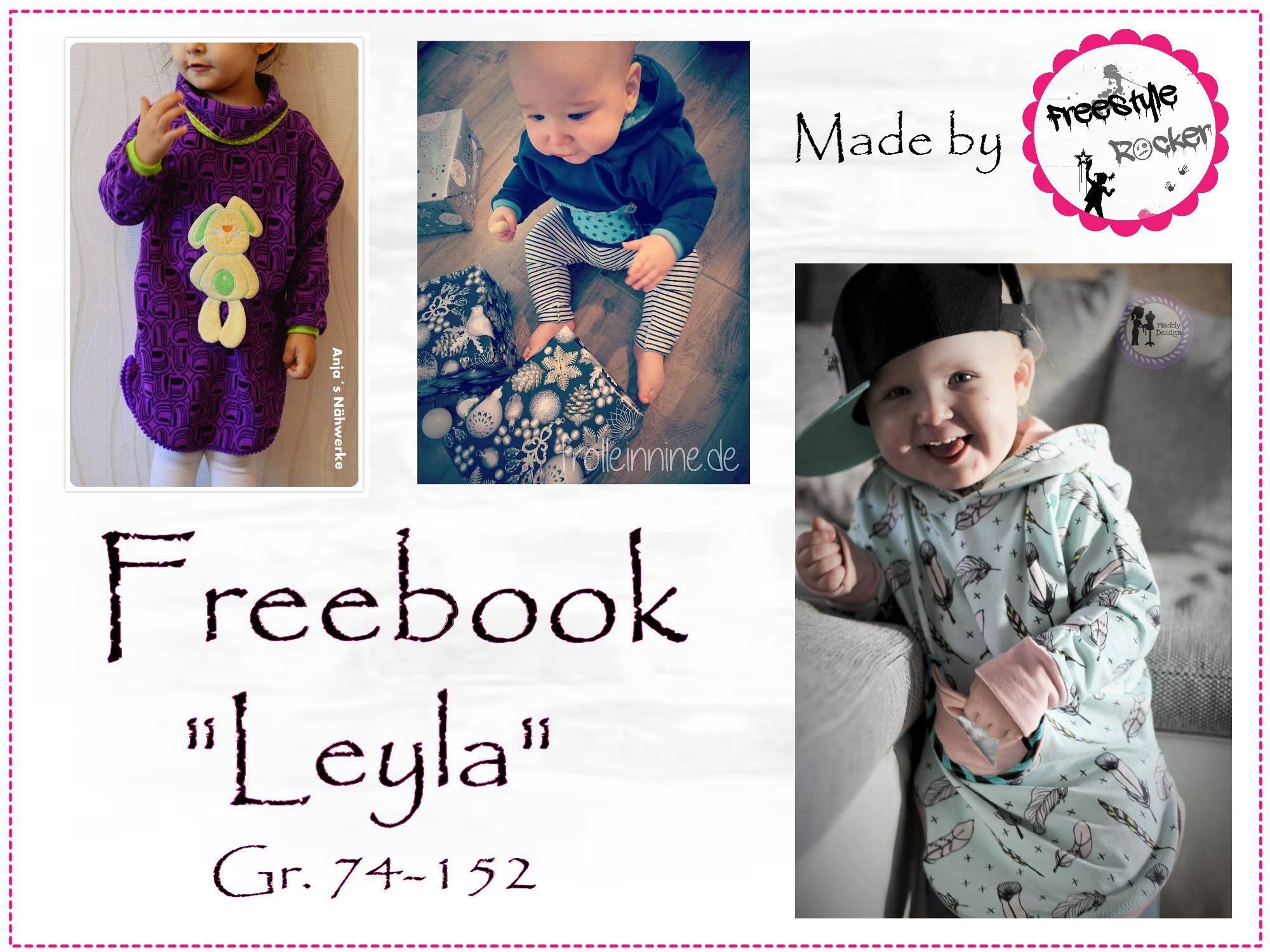 Leyla 74-152 - Pulli Poncho, Tunika, Pullover | To do | Pinterest ...
