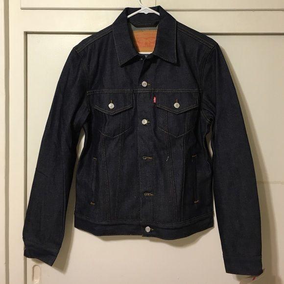 Levis denim jacket Medium Levis denim jacket men's Medium. NEW. P24. Levi's Jackets & Coats Jean Jackets
