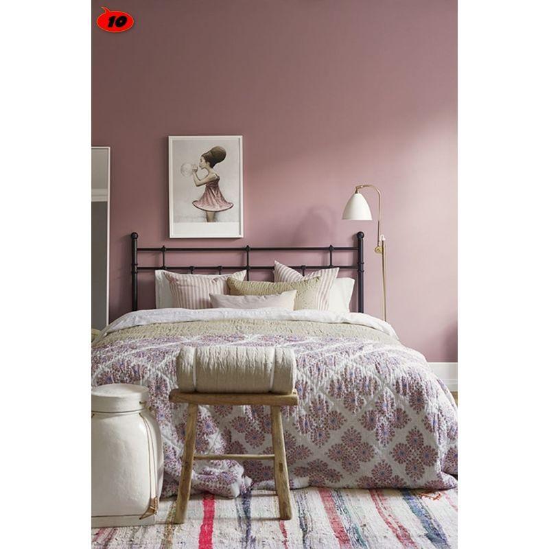 Peinture Murale Sans Odeur Couleur Vieux Rose Qualite
