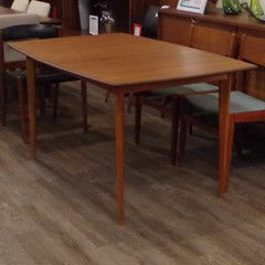 Best Way To Refinish A Teak Dining Table Teak Dining Table Mid Century Dining Table Rooms To Go Furniture