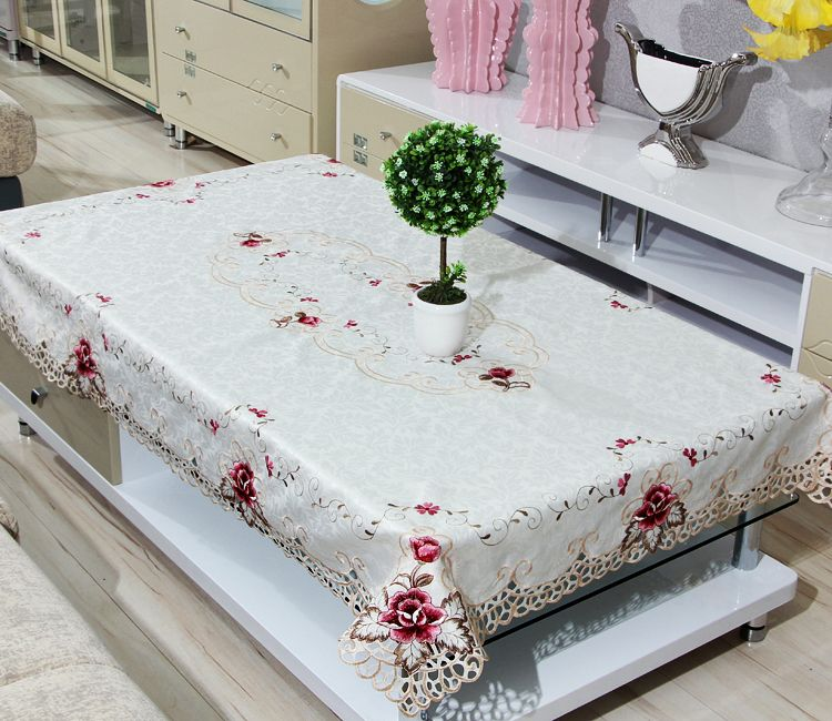 Polyester Tablecloth Coffee Table Cover Cool Tables