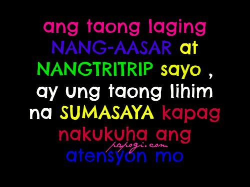 papogi a collections of tagalog love quotes online sad