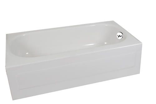 Briggs Pendant 54 X 30 White Bathtub With Right Hand Drain Bathtub Small Bathtub Bathtub Shower