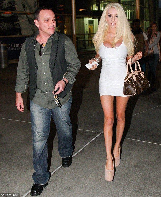 celebrity goes dating courtney