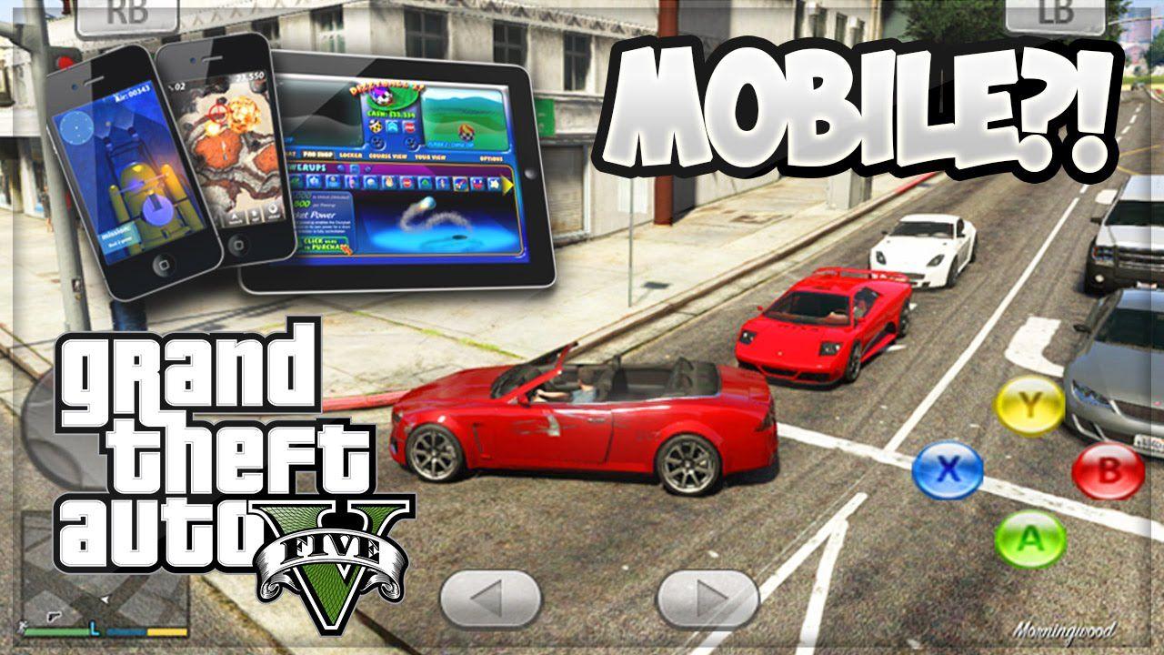 Gta 5 Mobile Beta V Gameplay Rumors Gta 5 Online Youtube In 2020 Gta 5 Mobile Gta 5 Gta 5 Online