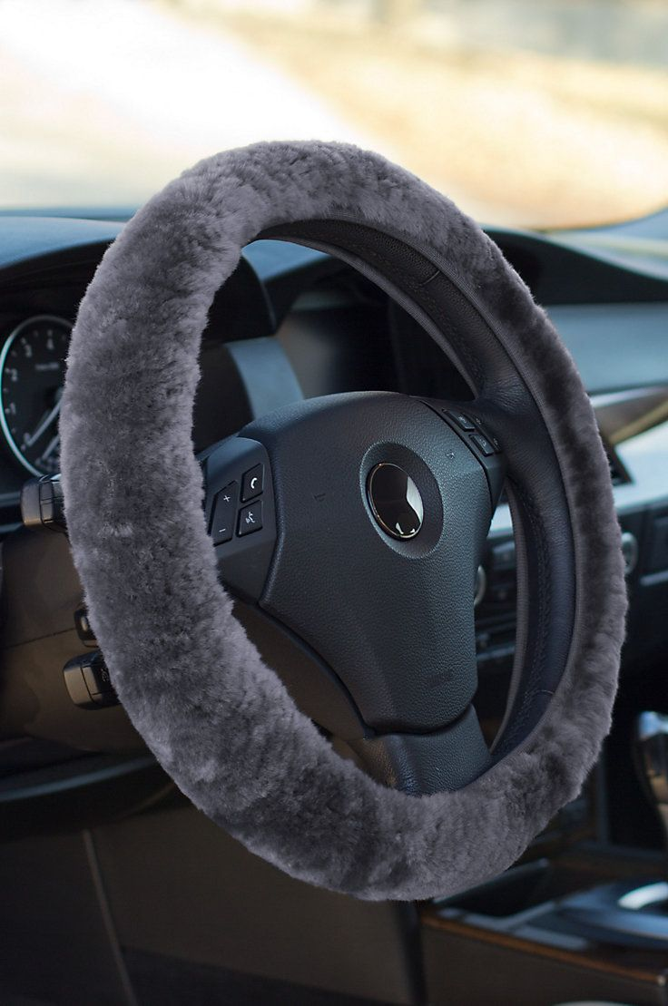 sheepskin steering wheel cover wheels wheel cover, car